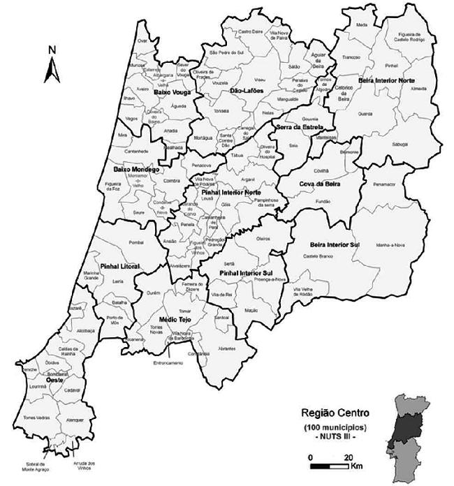 Jornal Campeão: Leiria, Aveiro e Viseu são as capitais de distrito do Centro que ganham população