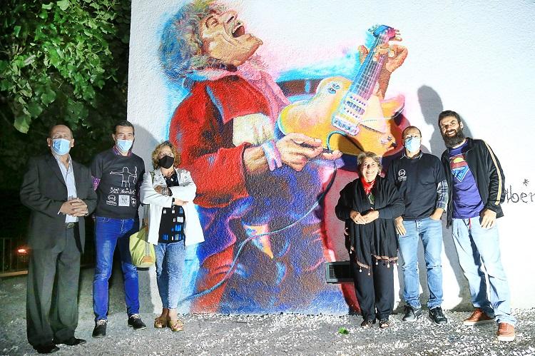 Jornal Campeão: Poiares assinalou Dia Mundial do Rock com mural dedicado a Phil Mendrix