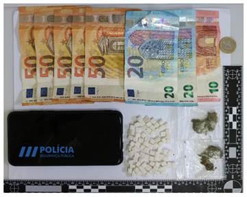 Jornal Campeão: Detido por tráfico de droga na zona de Montarroio, em Coimbra
