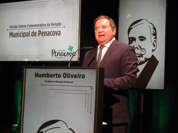 Jornal Campeão: Humberto Oliveira fez balanço de 12 anos como presidente da Câmara de Penacova