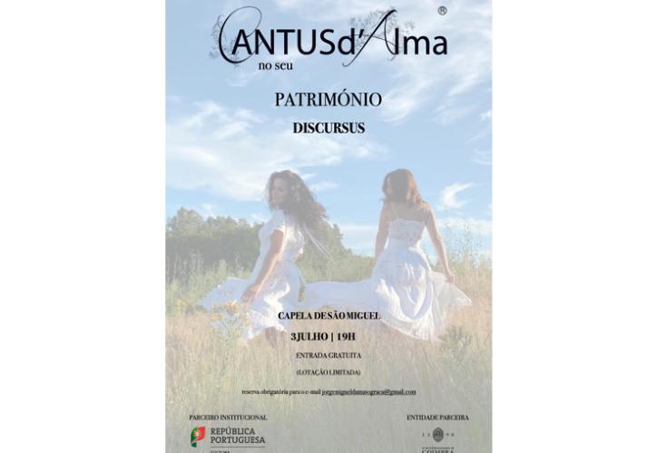 Jornal Campeão: UC: Capela de São Miguel recebe concerto do grupo CANTUSd'Alma