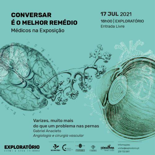 Jornal Campeão: Exploratório e Centro Cirúrgico de Coimbra abordam tema sobre prevenção de varizes