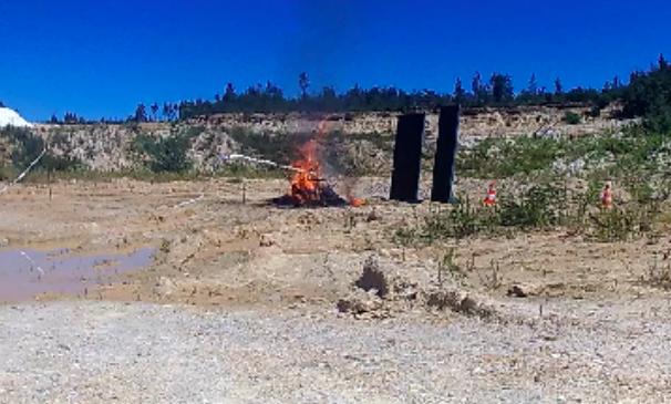 Jornal Campeão: Incêndios: Universidade de Coimbra realiza ensaios sobre explosão de garrafas de gás