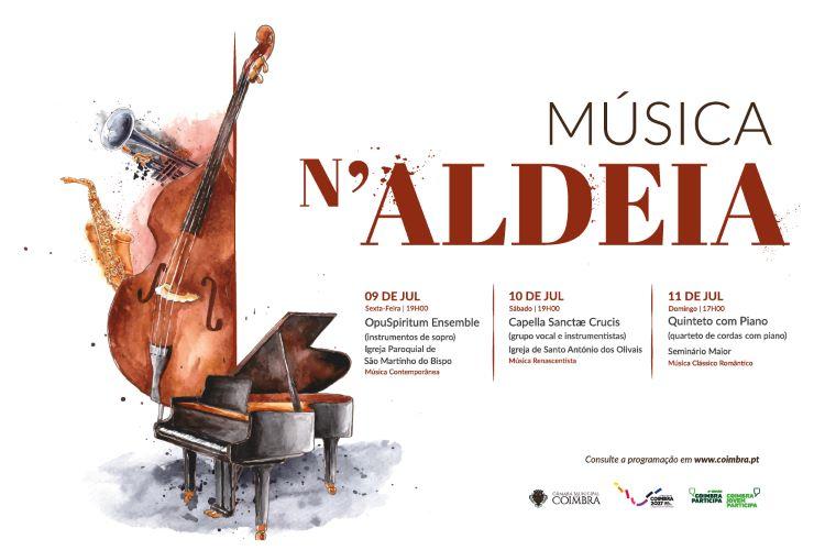 """Jornal Campeão: """"Música n'Aldeia"""" continua a animar Coimbra"""