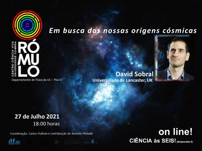 Jornal Campeão: Rómulo fala sobre as origens cósmicas com David Sobral
