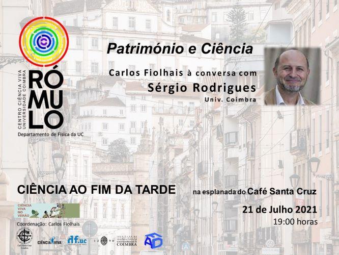 """Jornal Campeão: Rómulo conversa sobre """"património e ciência"""" no café Santa Cruz"""