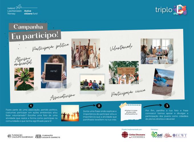 Jornal Campeão: Projecto Triplo D da Cáritas de Coimbra lança nova campanha
