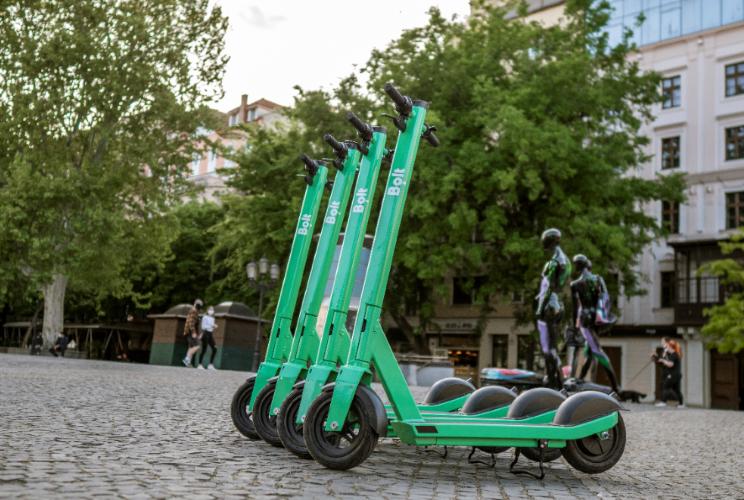 Jornal Campeão: Trotinetes eléctricas da Bolt chegam a Coimbra