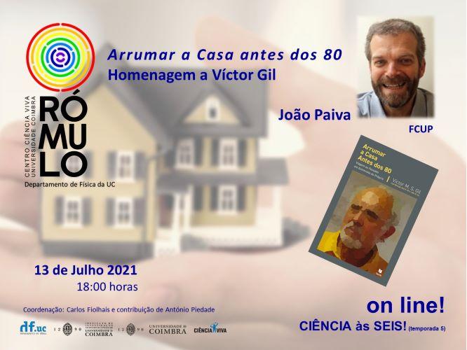 Jornal Campeão: Ciência às seis no Rómulo está de volta e João Paiva homenageia Víctor Gil