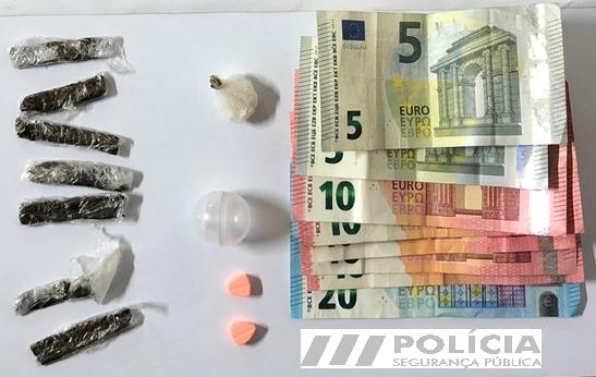 Jornal Campeão: PSP detém jovem em Coimbra por tráfico de droga