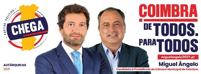 Jornal Campeão: Chega espera um bom resultado nas autárquicas em Coimbra