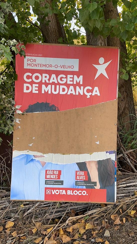 Jornal Campeão: BE queixa-se de vandalismo em Montemor-o-Velho