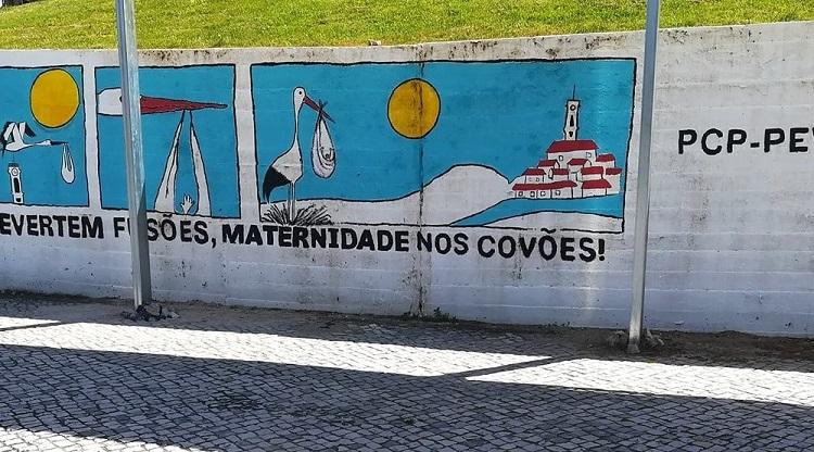 Jornal Campeão: CNE dá razão à CDU pela destruição de mural político em Coimbra