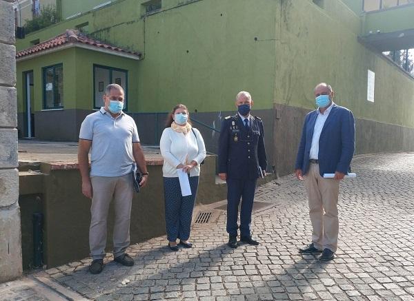 Jornal Campeão: Candidato do Chega à Câmara de Coimbra visitou GNR e falou de segurança