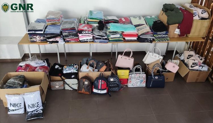 Jornal Campeão: GNR apreende mais de 500 artigos contrafeitos em Oliveira do Hospital