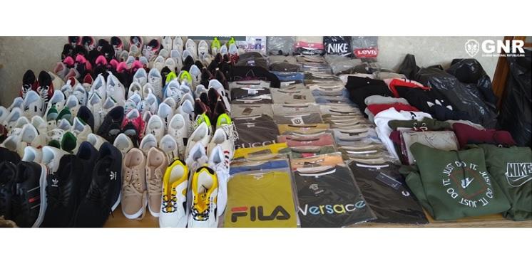 Jornal Campeão: GNR apreendeu mais de 900 artigos contrafeitos em Cantanhede