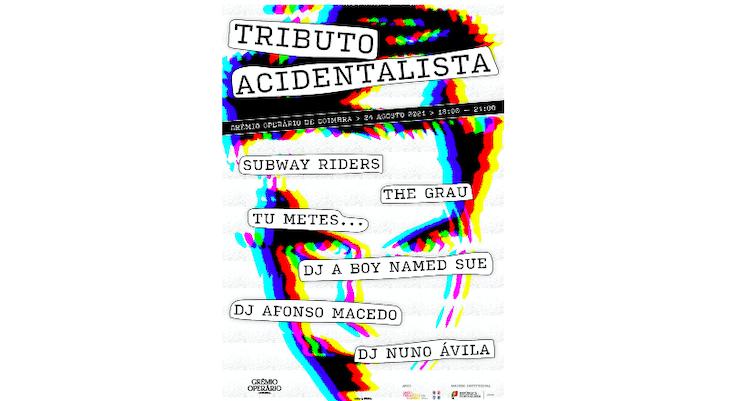 Jornal Campeão: Grémio Operário de Coimbra com Tributo Acidentalista e Cucoma Combo no cartaz