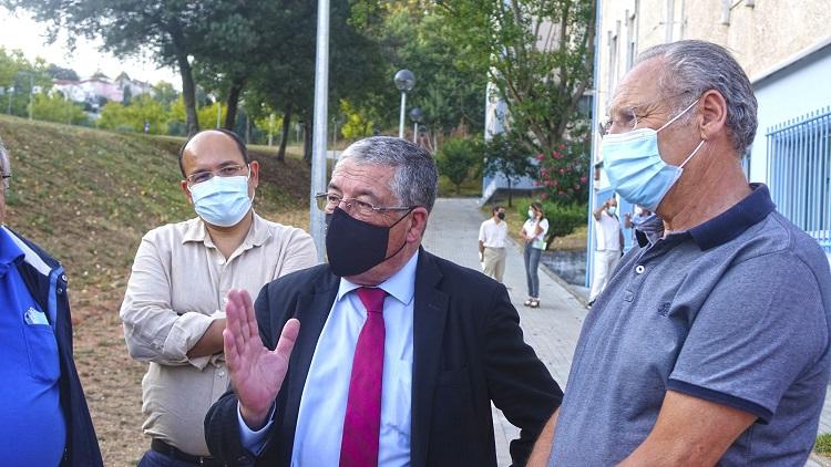 Jornal Campeão: Manuel Machado e Moura Távora visitam Cooperativa Mondego