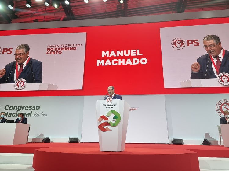 Jornal Campeão: Manuel Machado defende regionalização no Congresso do PS
