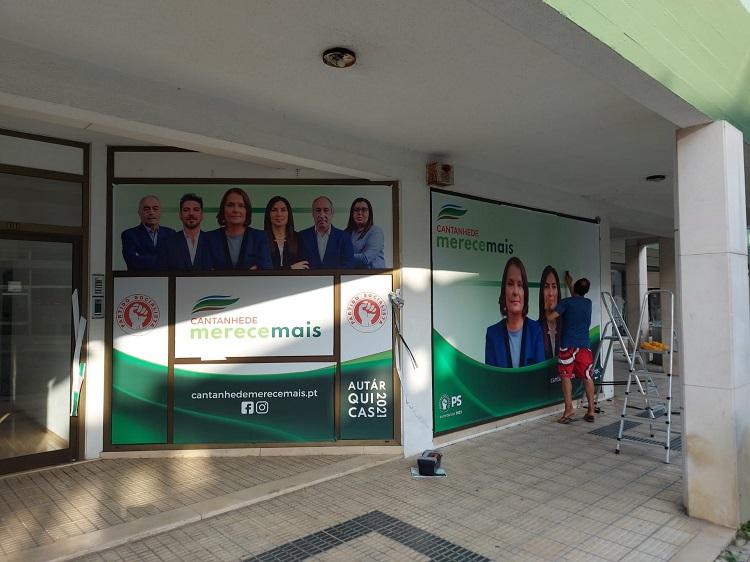 Jornal Campeão: Candidata do PS à Câmara de Cantanhede inaugura sede de campanha
