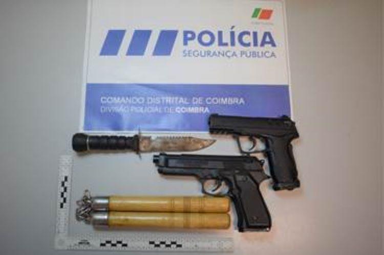 Jornal Campeão: PSP de Coimbra apreende armas de fogo e identifica quatro suspeitos