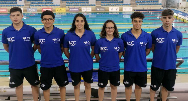 Jornal Campeão: Nadadores da Sociedade Columbófila conquistam prata e bronze no Open de Portugalal