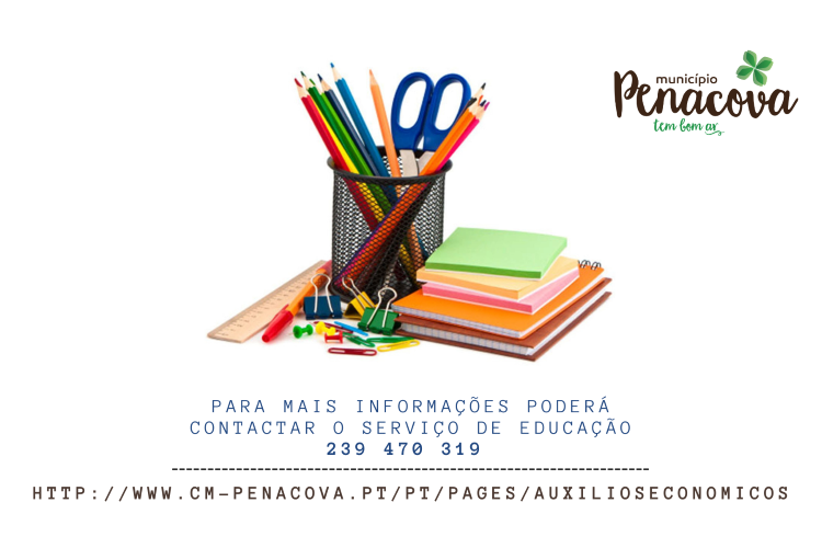 Jornal Campeão: Penacova oferece cadernos de actividades e comparticipa material escolar