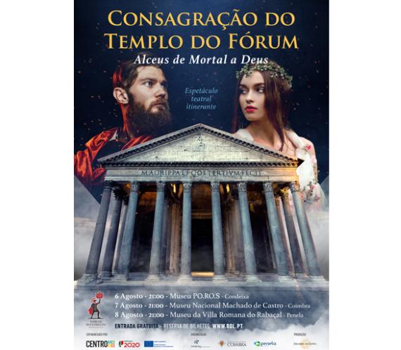 """Jornal Campeão: Penela: Consagração do Templo do Fórum """"Alceus de Mortal a Deus"""""""