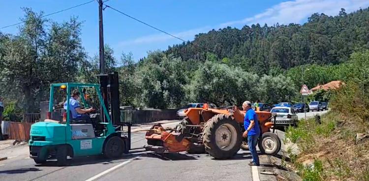 Jornal Campeão: Acidente com tractor agrícola provoca um morto em Miranda do Corvo