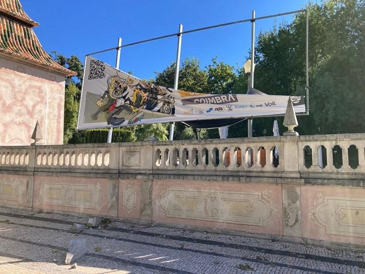 Jornal Campeão: Câmara de Coimbra notifica candidatura por estragos no Jardim da Sereia