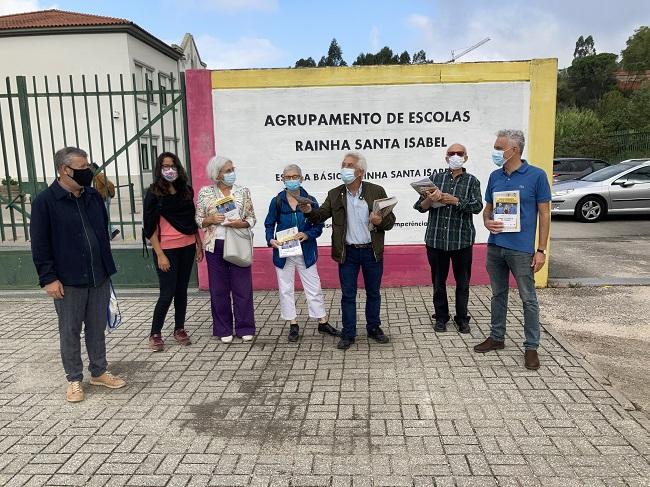 Jornal Campeão: Cidadãos por Coimbra ambicionam contribuir para um novo projecto educativo