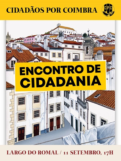 Jornal Campeão: Cidadãos por Coimbra cancelam encontro de cidadania no Largo do Romal