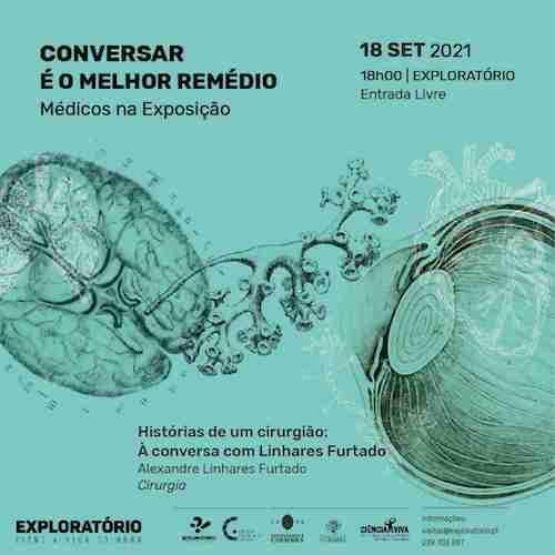 """Jornal Campeão: Exploratório recebe sessão """"Histórias de um Cirurgião"""" com Linhares Furtado"""