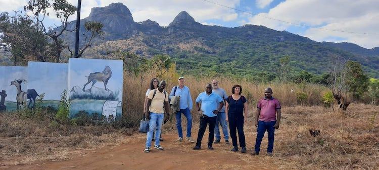 Jornal Campeão: Comitiva da ESAC esteve em missão em Moçambique