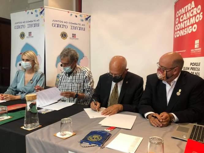 Jornal Campeão: Lions Clubs assinam protocolo com a LPCC para atribuição de bolsas de investigação