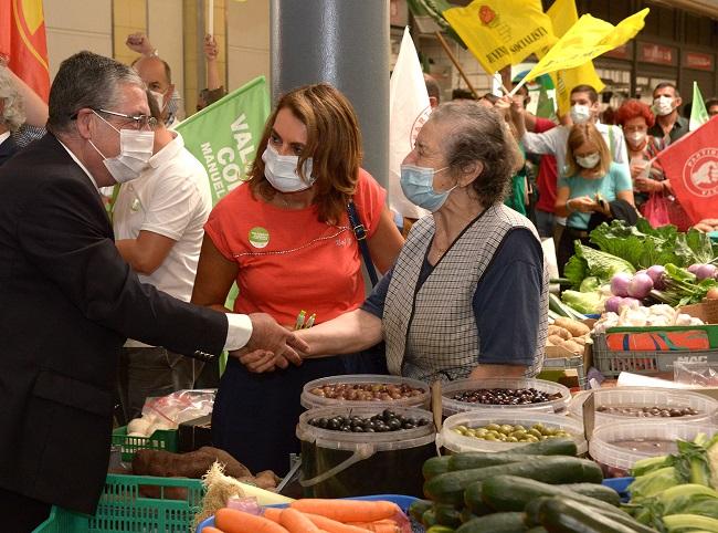 Jornal Campeão: Manuel Machado (PS) lembra apoio aos comerciantes e obras no mercado de Coimbra