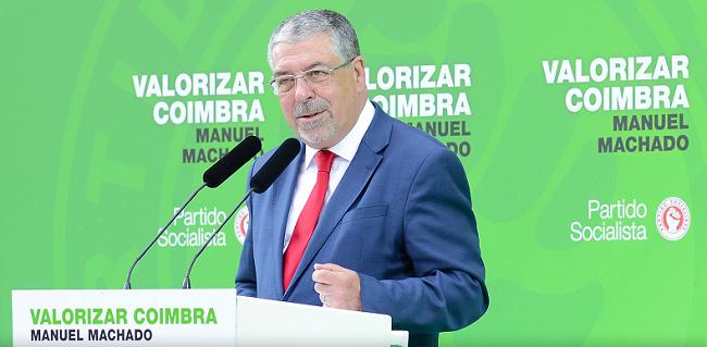"""Jornal Campeão: Manuel Machado (PS) inaugura sede de candidatura """"Valorizar Coimbra 2021"""""""