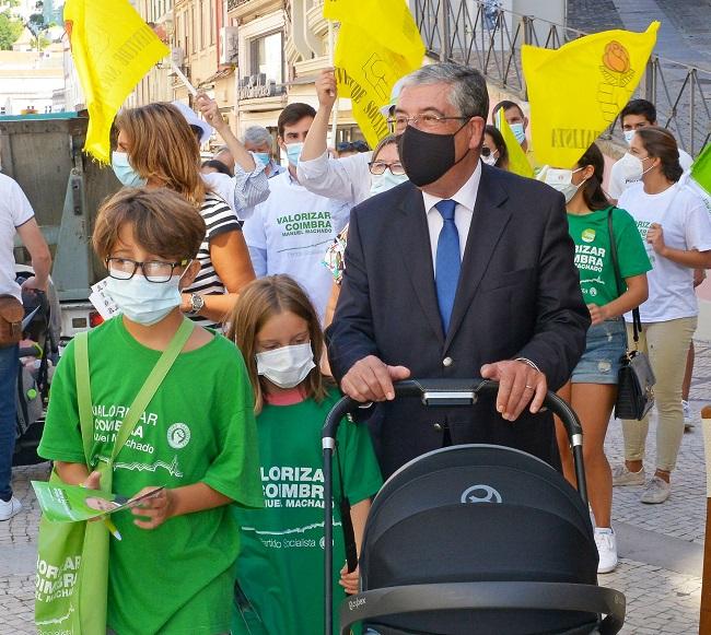 Jornal Campeão: Manuel Machado mantém aposta nas ciclovias e ligar Coimbra à Figueira da Foz