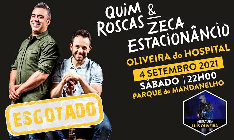 Jornal Campeão: Esgotado espectáculo de Quim Roscas e Zeca Estacionâncio em Oliveira do Hospital