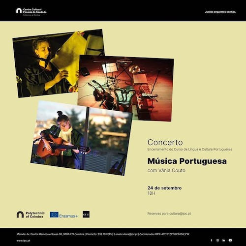 Jornal Campeão: Concerto de Vânia Couto no Centro Cultural do Politécnico de Coimbra