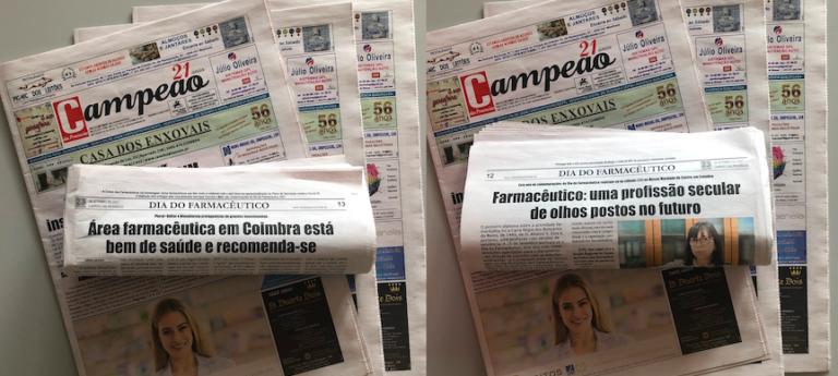Jornal Campeão: Sector farmacêutico em Coimbra continua a dar cartas