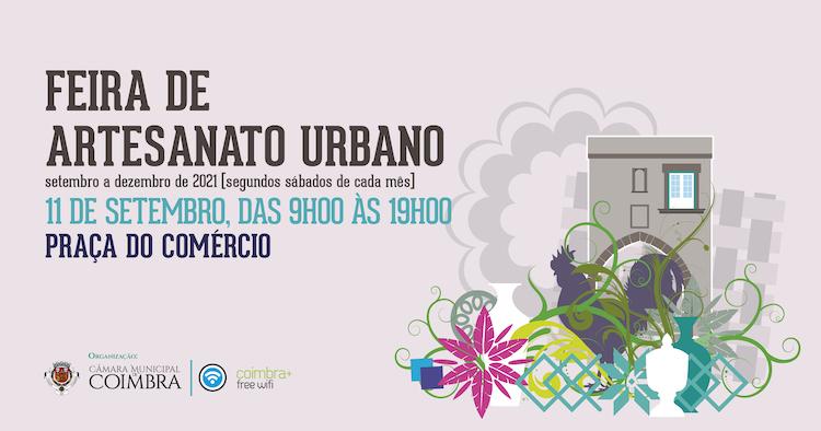 Jornal Campeão: Feira de Artesanato Urbano regressa amanhã à Baixa da cidade