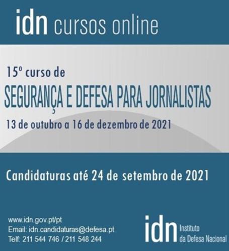Jornal Campeão: Instituto da Defesa Nacional organiza curso de Segurança e Defesa para Jornalistas