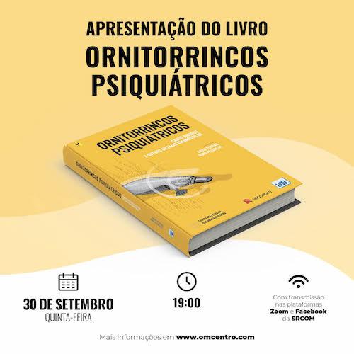 """Jornal Campeão: Livro """"Ornitorrincos Psiquiátricos"""" apresentado em Coimbra"""