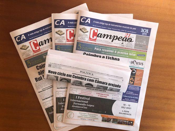 Jornal Campeão: Novo ciclo em Coimbra com Câmara arejada
