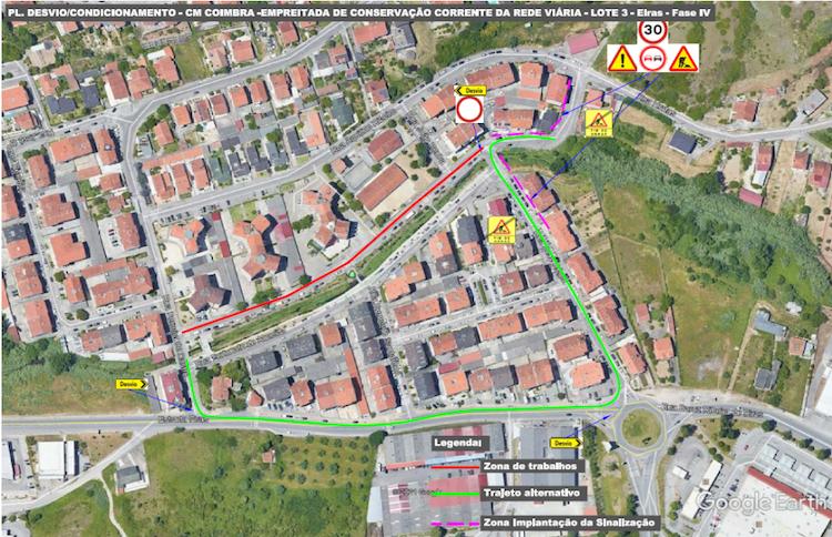 Jornal Campeão: Requalificação de vias no Bairro de Santa Apolónia obrigam a corte de trânsito