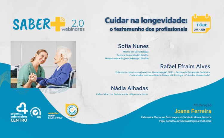 """Jornal Campeão: Enfermeiros do Centro organizam webinar """"Cuidar na longevidade"""""""