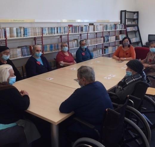 Jornal Campeão: Biblioteca Municipal de Cantanhede promoveu actividades de leitura para seniores