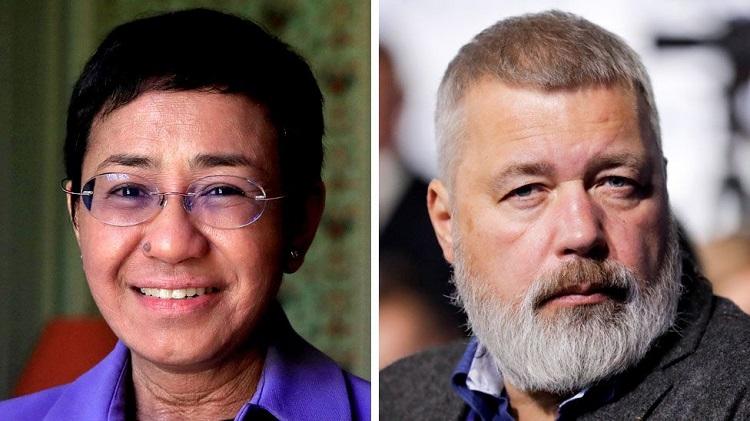 Jornal Campeão: Prémio Nobel da Paz entregue a jornalistas Maria Ressa e Dmitry Muratov