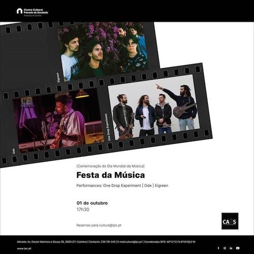 Jornal Campeão: Festa da Música no Centro Cultural do Politécnico de Coimbra